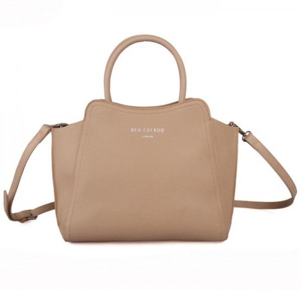 Small Beige Tote Bag