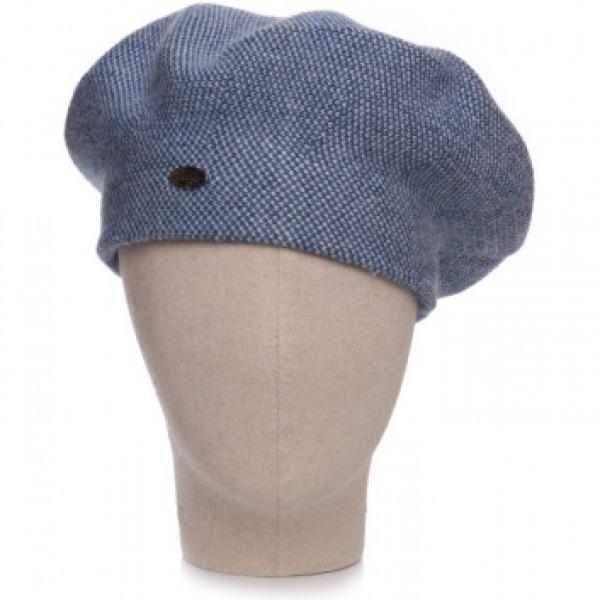 Cashmere 2 Tone Hat Denim