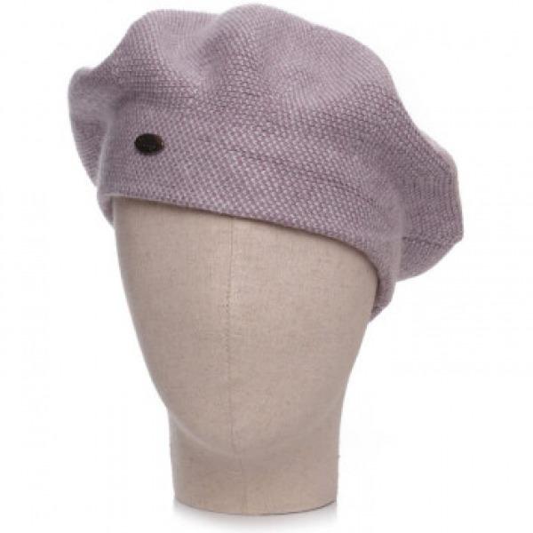Cashmere 2 Tone Hat Lilac