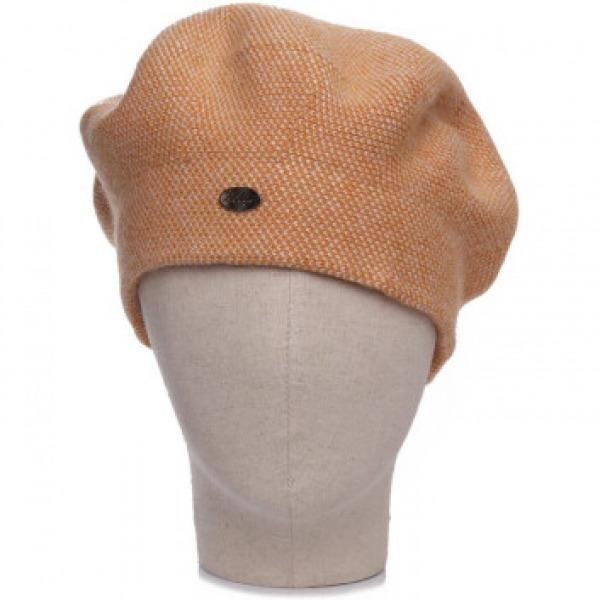 Cashmere 2 Tone Hat Mustard