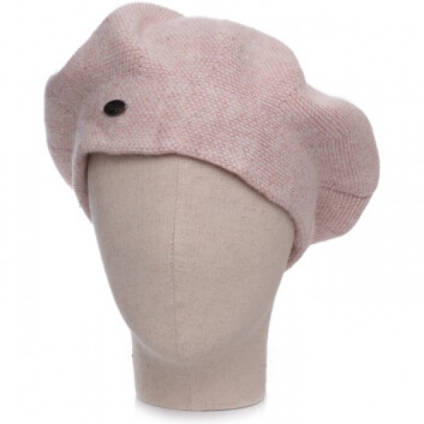 Cashmere 2 Tone Hat Pink