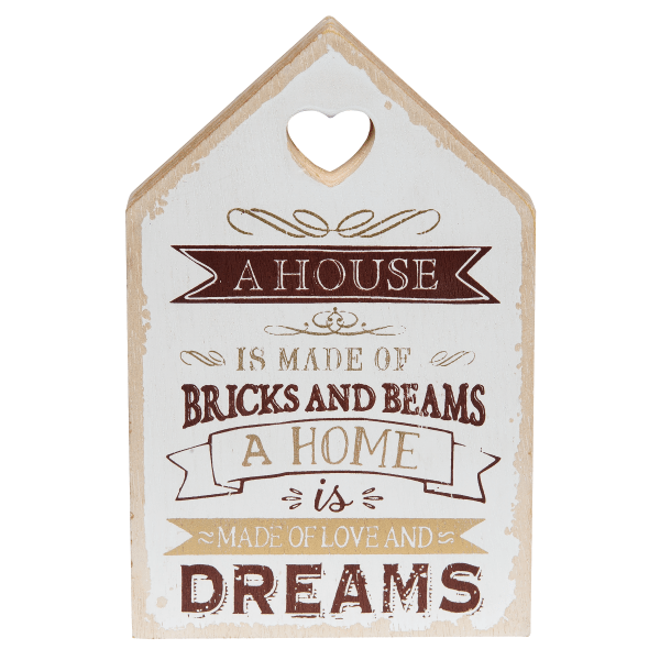 Wooden House Quote