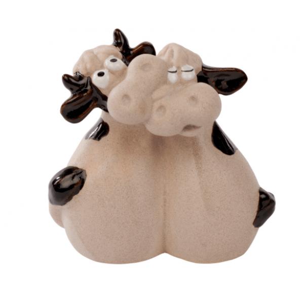Cow Couple Ornament