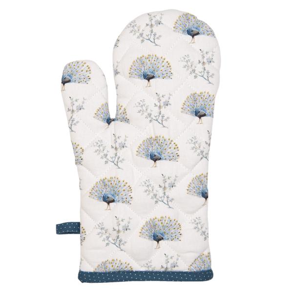 Peacock Oven Glove