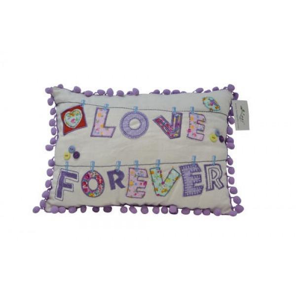 Pom Pom Cushions - Love Forever