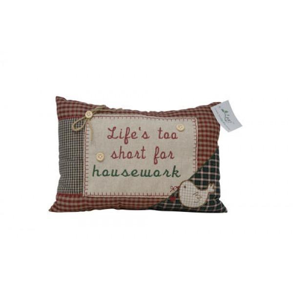 Tartan Cushions - Life