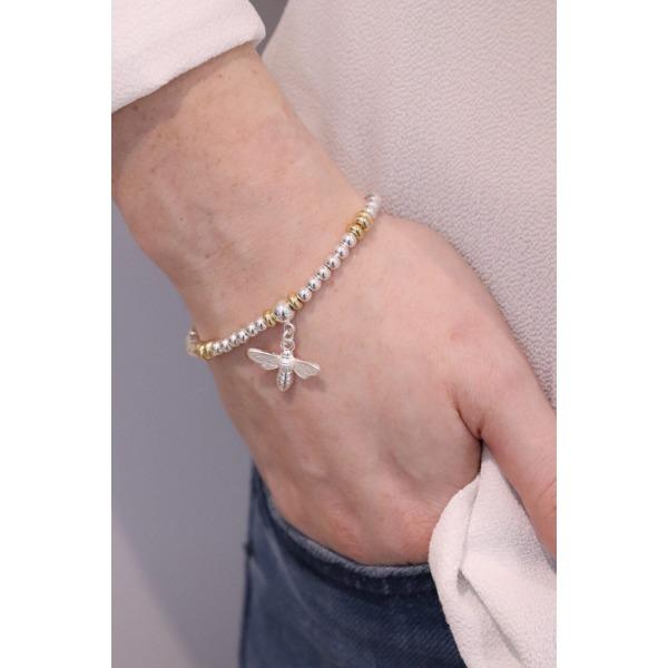 Bee Stacking Bracelet