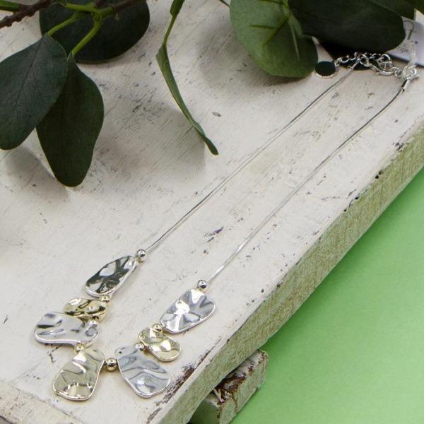 Short Organic Shapes Necklace