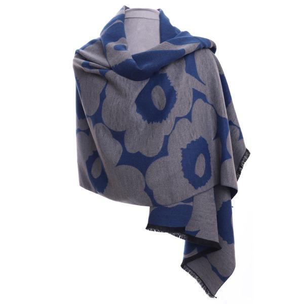 Floral Wrap Blue