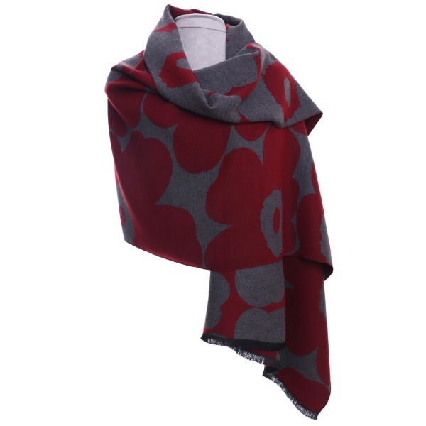 Floral Wrap Red