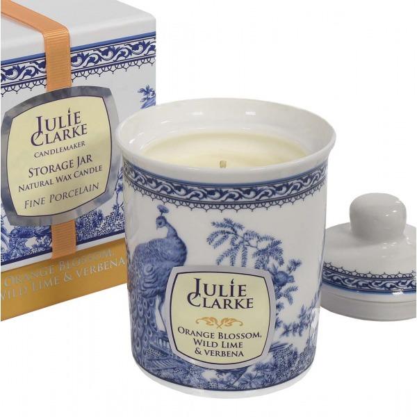 Julie Clark Orange Blossom, Wild Lime & Verbena Candle