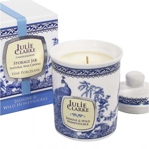 Julie Clark Jasmine & Wilde Honeysuckle Candle