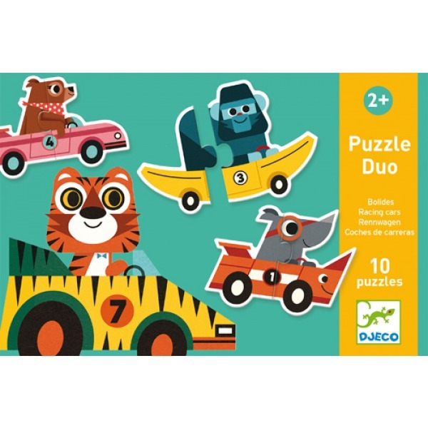 Duo Puzzle Racing Cars