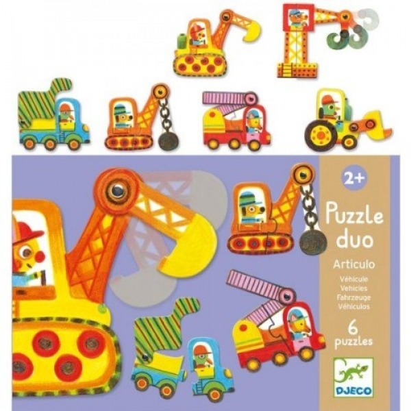Duo Puzzle Vehicles